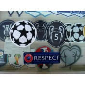 Official Liverpool FC UEFA UCL 2017-18 SENSCILIA Patch Set