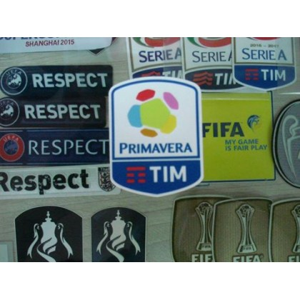 Official Italian Calcio PRIMAVERA Player Size 2016-17 Soccer Patch