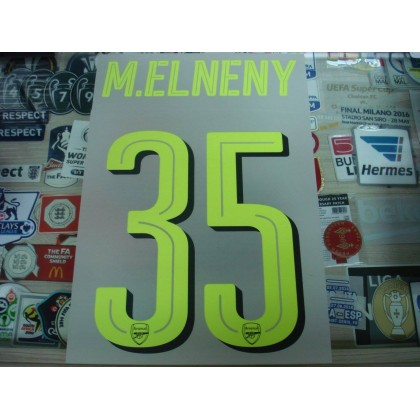 Official M.ELNENY #35 Arsenal 3rd CUP UCL 2016-17 PRINT
