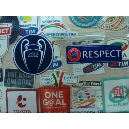 Official Chelsea FC UCL Champions 2012 + RESPECT  Senscilia Patch