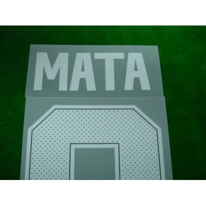 Official MATA #8 Manchester United Away CUP 2017-18 PRINT