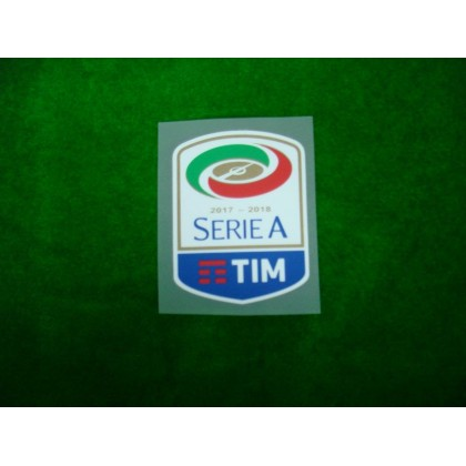 Official Italian Calcio SERIE A TIM Player Size 2017-18 Sleeve Patch