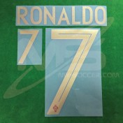 Official RONALDO #7 Portugal Home WORLD CUP 2018 PRINT