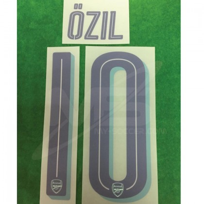 Official OZIL #10 Arsenal 3rd CUP 2018-19 PRINT