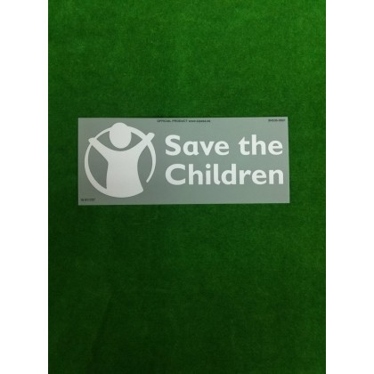 Official Atletico Madrid Home SAVE THE CHILDREN 2018-19 Sponsor PRINT