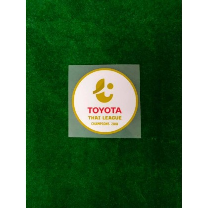 OFFICIAL PLAYER ISSUE TOYOTA THAI LEAGUE 1 CHAMPION 2018 Patch