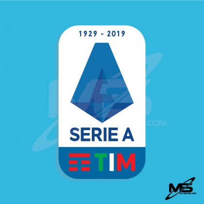 Official Italian Calcio SERIE A TIM Player Size 2019-2020 Sleeve Patch