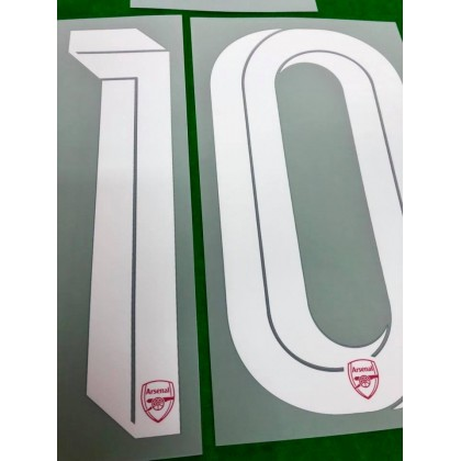Official OZIL #10 Arsenal FC Home CUP 2019-20 PRINT