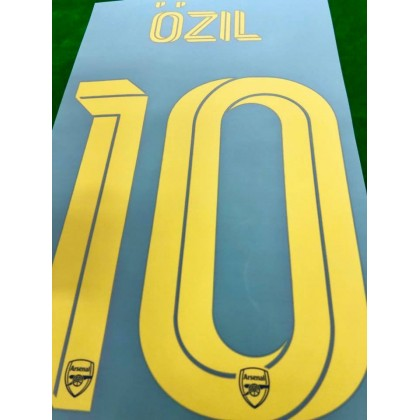 Official OZIL #10 Arsenal FC 3rd CUP 2019-20 PRINT