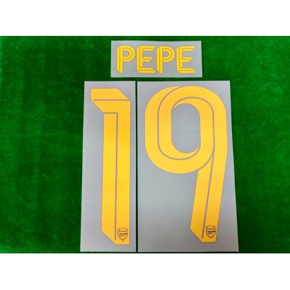 Official PEPE #19 Arsenal FC 3rd CUP 2019-20 PRINT