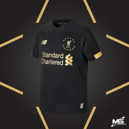 NEW BALANCE Liverpool FC 6 times collection BLACK GK 2019-20 Jersey