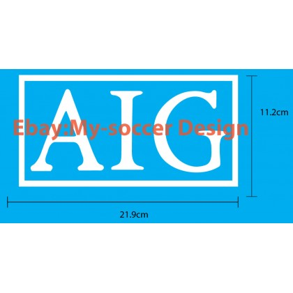AIG Manchester United 2007-08 Home Shirt EPL or UCL Sponsor Print