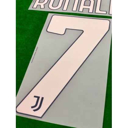 Official RONALDO #7 Juventus FC Away 2020-21 PRINT