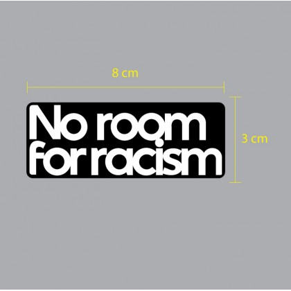 NO ROOM FOR RACISM EPL 2020-21 Reproduction Patch