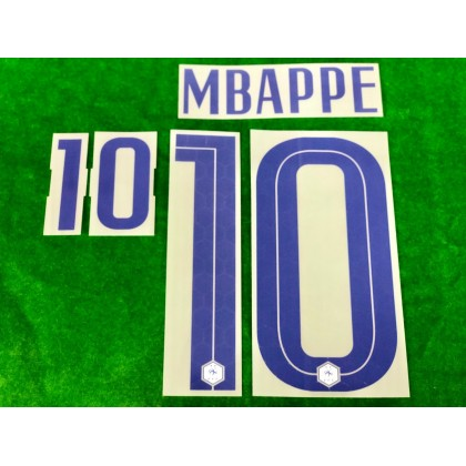 Official MBAPPE #10 France FFF Away 2020-21 PRINT