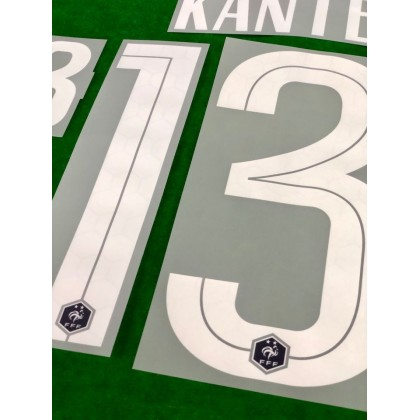 Official KANTE #13 France FFF Home 2020-21 PRINT