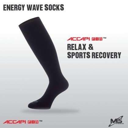 ACCAPI NW001 Relax and Sports Recovery Energy Wave Socks