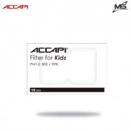 ACCAPI 001694 Filter Pack for Kids (10 pcs)