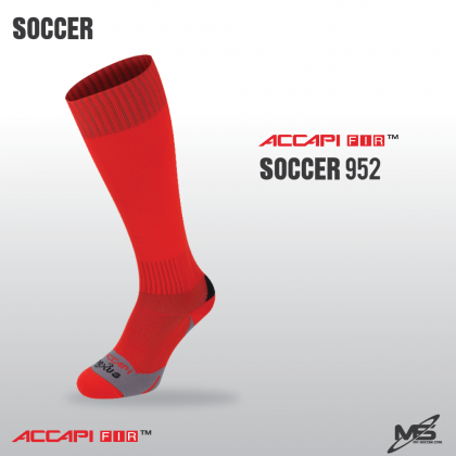ACCAPI N1401 Football FIR Socks RED