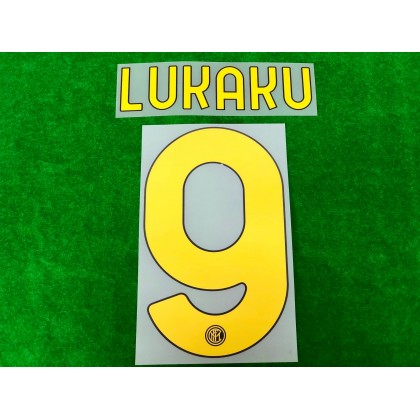 Official LUKAKU #9 Inter Milan 3rd 2020-21 PRINT