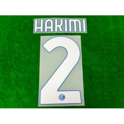 Official HAKIMI #2 Inter Milan Home 2020-21 PRINT