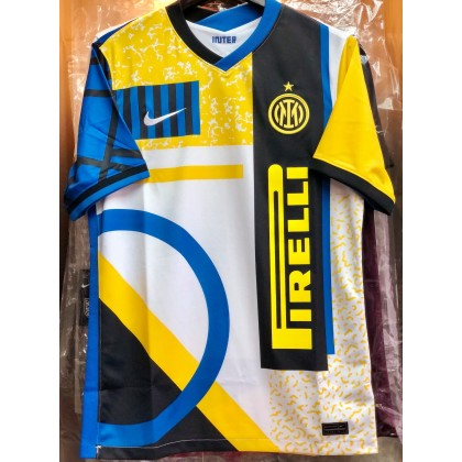 NIKE Inter Milan FC 4th 2020-21 Stadium Jersey