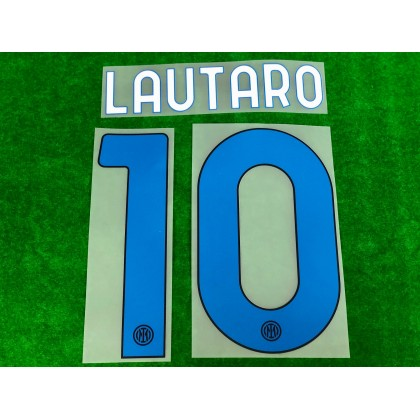 Official LAUTARO #10 Inter Milan 4th 2020-21 PRINT