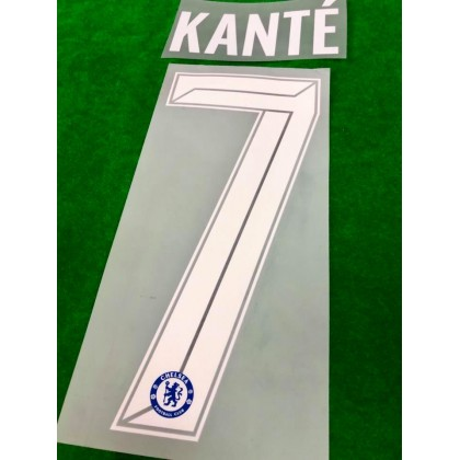 OFFICIAL KANTE' #7 Chelsea Home CUP UCL 2020-21 PRINT
