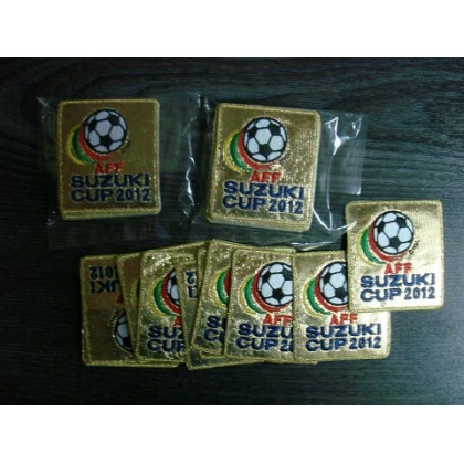 Official AFF Suzuki Cup Champion GOLD 2012 Malaysia Patch