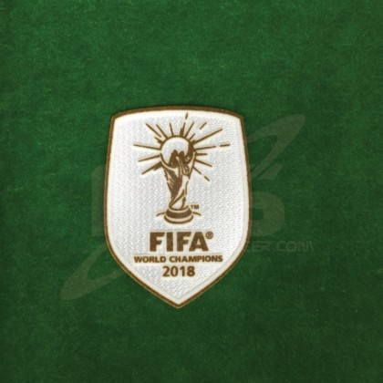 Official FIFA WORLD CHAMPIONS 2018 Patch for France Home Jersey