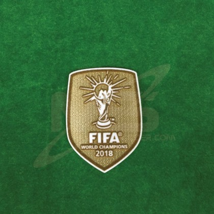 Official FIFA WORLD CHAMPIONS 2018 Patch for France Away Jersey